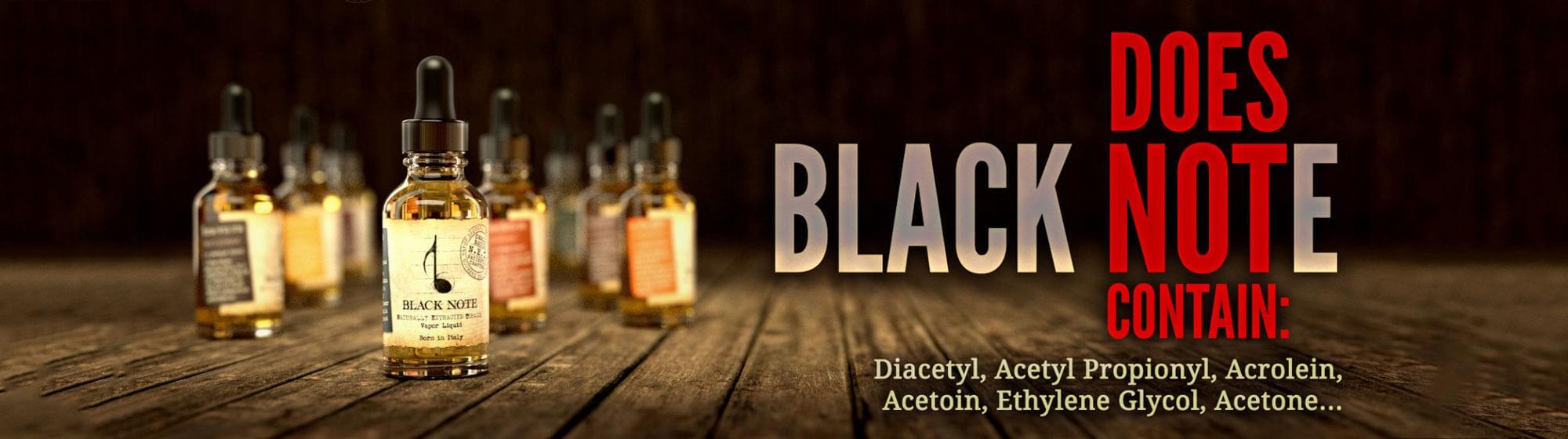 free of Diacetyl, Acetyl Propinyl